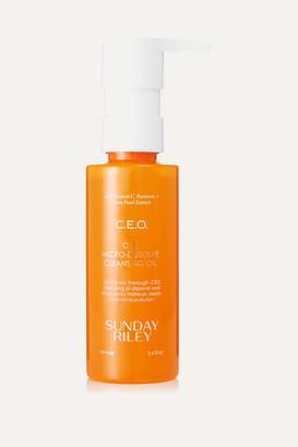 Sunday Riley C.e.o. C E Micro-dissolve Cleansing Oil, 100ml - Colorless