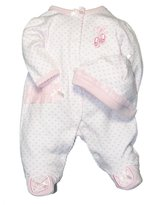 Little Me Prima Ballerina Footie Pajama Sleeper, Baby Girls