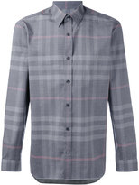 Burberry check shirt - men - Cotton - S