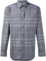 Burberry check shirt - men - Cotton - XL