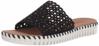 Skechers SEPULVEDA - Dahlia - Smooth Microfiber Fabric Upper in a Casual Comfort Fashion Slide Black