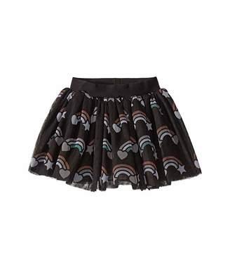 HUXBABY Rainbow Tulle Skirt (Infant/Toddler)