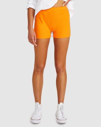 Don't Ask Amanda Kelby Ribbed Hot Shorts