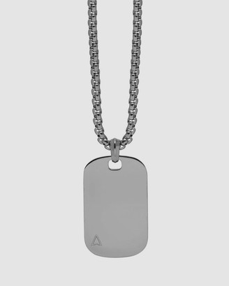 Northskull Men's Silver Necklaces - ID Tag Necklace - Size one size, One Size at The Iconic