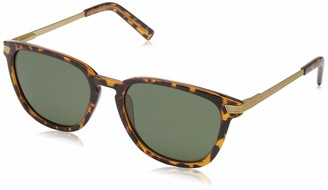 Life is Good Sierra Polarized Round Sunglasses Tortoise 55 mm