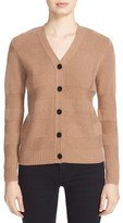 Burberry Bann Plaid Knit Wool & Cashmere Cardigan