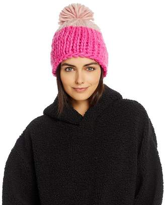 Free People Cozy Up Color-Block Beanie