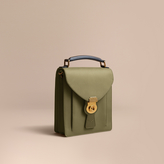 Burberry The Small Trench Leather Satchel