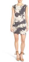 Pam & Gela Knot Shoulder Body-Con Dress
