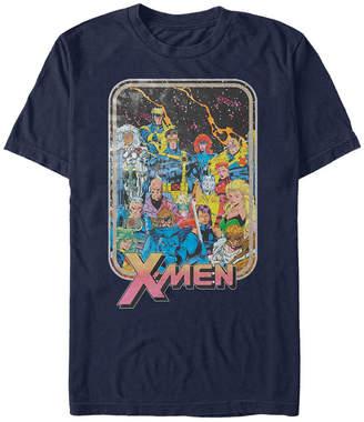 Marvel Men Comic Collection Vintage X-Men Team Group Shot Short Sleeve T-Shirt