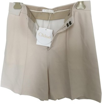 Chloé Ecru Shorts for Women