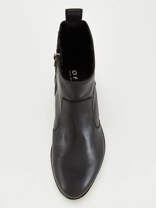 Office Ashleigh Wide Fit Ankle Boots - Black