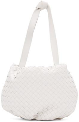 Bottega Veneta White Small The Bulb Bag
