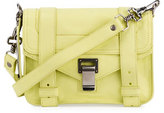 Proenza Schouler PS11 Mini Leather Shoulder Bag, Pale Citrus