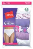 Hanes Women's 6pk Hi-Cut Panties PP43WB
