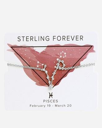 Express Sterling Forever 'When Stars Align' Pisces Constellation Bolo Bracelet