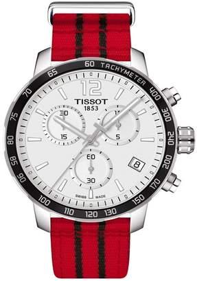 Tissot Men's Quickster Chronograph NBA Chicago Bulls Watch, 36mm