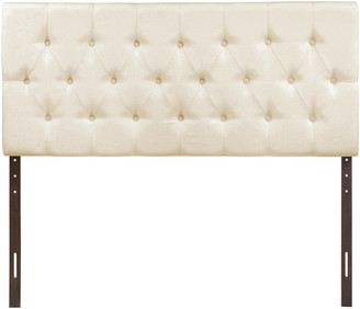 Modway Clique King Tufted Upholstered Fabric Headboard