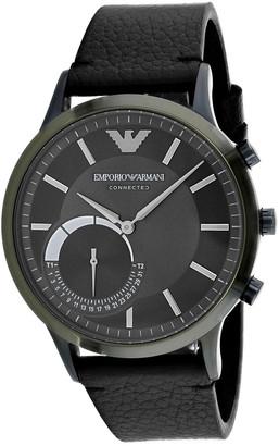 Giorgio Armani Men's Connected Watch