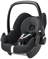 Maxi-Cosi Pebble Group 0+ Car Seat - Black Raven by