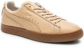 Puma Select x Naturel Clyde Veg Tan in Tan. - size 10 (also in 10.5,11,12,13,7,7.5,8,8.5,9,9.5)