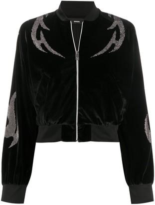 Diesel Embellished Velvet Jacket
