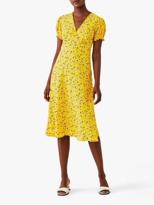 Ghost Jemima Floral Print Knee Length Dress