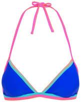 George Blanket Stitch Bikini Top