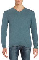 Strellson Cotton-Blend V-Neck Sweater
