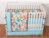 Sumersault Sunshine Safari 4-pc. Crib Bedding Set