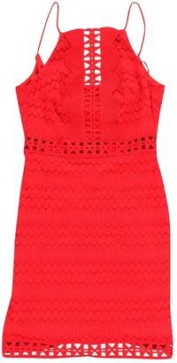 Topshop Tophop Orange Dress for Women