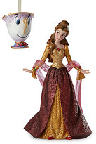 Disney Belle and Chip Couture de Force Holiday Figure and Ornament Set