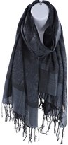 Silver Fever® Silver Fever Jacquard Paisley Pashmina Shawl Scarf Stole By Silver Fever Brand