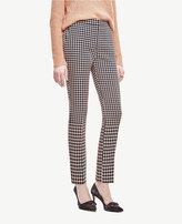 Ann Taylor Tall Houndstooth Ankle Pants