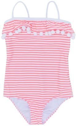 Sunuva Pompom Striped Swimsuit