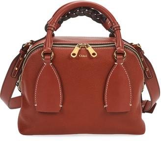 Chloé Daria Medium Day Bag in Smooth and Shiny Calfskin