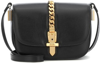 Gucci Sylvie 1969 Mini leather shoulder bag