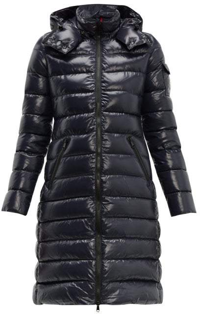 e01dff2c5 Moka Hooded Quilted Down Coat - Womens - Navy