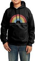 HUALIDE Hoodies Youth's Gangster Ish Colorful Rainbow 100% Cotton Hooded Sweashirt