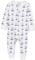 Sweet Peanut Sailboats Organic Cotton Playsuit - Infant