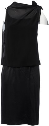 Akris Black Silk Dresses