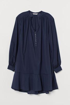 H&M Airy Cotton-blend Tunic