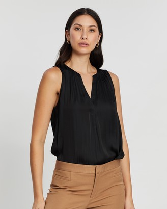 Banana Republic Soft Satin Top