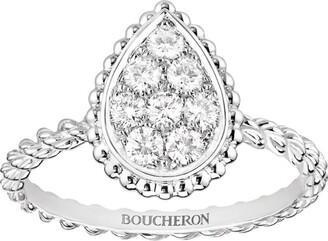 Boucheron White Gold Serpent Boheme S Motif Ring