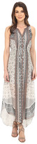 Hale Bob Stylish Standout High-Low Silk Dress