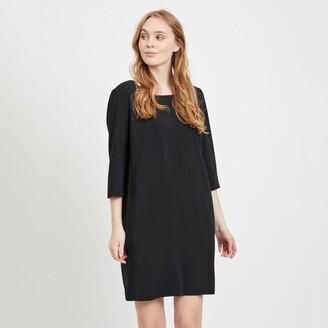 Vila Short Shift Dress with Pockets