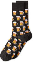Hot Sox Men's and#034;Beerand#034; Socks