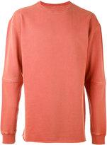 MHI panelled sleeve sweatshirt