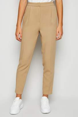New Look Womens Tapered Trousers - Brown