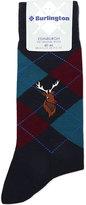 Burlington Edinburgh Reindeer Virgin Wool Socks
